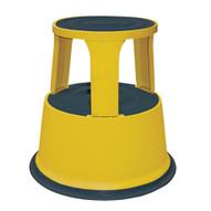 Vestil STEP-17-Y Rolling Step Stool - Yellow-1