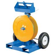Vestil STRAP-FP Strapping Cart With Fork Pockets-2