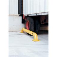 Vestil SWAC-144 Yellow Wheel Alignment Curb-1
