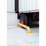 Vestil SWAC-92 Yellow Wheel Alignment Curb-1