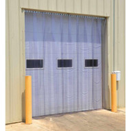 Vestil TG-1600-S-H-108-120 Vinyl Strip Door 0.16 In Std Header 108 X 120-1