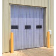 Vestil TG-1600-S-H-96-108 Vinyl Strip Door 0.16 In Std Header 96 X 108-1