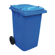 Vestil TH-95-BLU Blue Polyethylene Trash Can-1