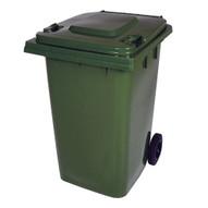 Vestil TH-95-GRN Green Polyethylene Trash Can-1