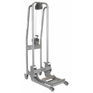 Vestil ULM-WMS-550 Stainless Steel Manual Load Stacker-2