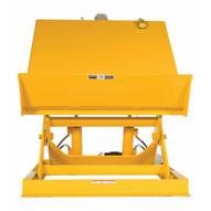 Vestil ULTT-5448-6-YEL115-1 Ergo Lifttilt Table 6k 115vph 1 54 X 48-1