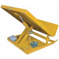 Vestil UNI-5448-4-YEL-230-1 Lift Table 4k 54 X 48 Yellow 230v 1 Phase-1