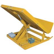 Vestil UNI-5448-6-YEL Single Scissor Lift & Tilt Table-1