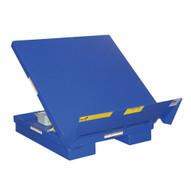 Vestil UNI-P-5448-4 Portable Lift & Tilt Workstation Table-3