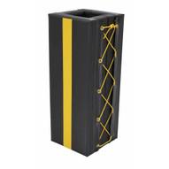 Vestil V-PAD-S-34 Column Protective Pad Square 3ft 4 In Bk-1