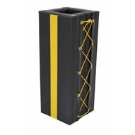 Vestil V-PAD-S-38 Column Protective Pad Square 3ft 8 In Bk-3