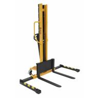 Vestil VHPS-NM-1000-AA Manual Stacker Narrow Mast Adj Forkslegs 1k-3