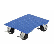 Vestil VPLDOS-1418-AS Stl Plate Dolly 1200 Cap 14 X 18 Swiv-1