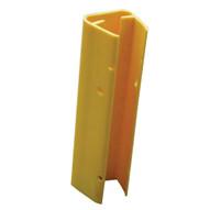 Vestil VPRP-YL-12 Rack Sheild - Polyethylene Yellow-2