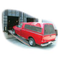Vestil VTR-5.5-14-10 Aluminum Twin Vehicle Ramp - Portable-2