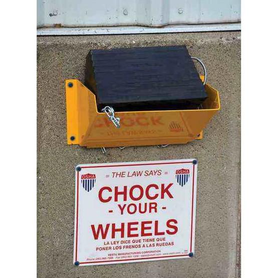Vestil WC-H Wheel Chock Holder-2