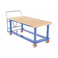 Vestil WHPT-3060-WT Work-height Platform Truck 30 X 60 Wood Top-3