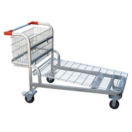 Vestil WIRE-L Nestable Wire Cart-1