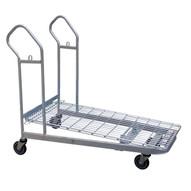 Vestil WIRE-M Nestable Wire Cart-1