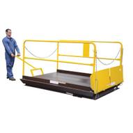 Vestil WL-WK Docklift Option - Mobile Wheel Kit-1