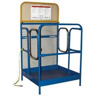 Vestil WP-3636-DD Work Platform - Dual Side Entry-1