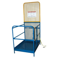 Vestil WP-3648-84B Work Platform - Single Door-1