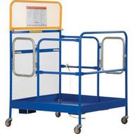 Vestil WP-3648-CA Work Platform - Single Door-1