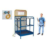 Vestil WP-4848-DD-FF Work Platform - Dual Side Entry-1