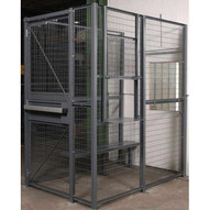 Vestil WPC-D-4X6-3 Wire Driver Cage - 3-sided 4 X 6-1