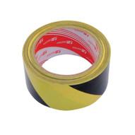 Vestil YB-282-R Yellow black Floor Tape-1