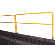 Vestil YR-HDRL Yard Ramp Option - Handrail With Midrail-1