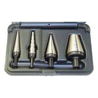 Vise Grip 10225 4-pc Unibit Step Drill Sets Hss #1 2 4 And 21 Sizes-1