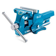 Heuer VH101140 140 Mm Bench Vise (5 1 2) With Reversable replaceable Jaws-1