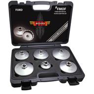 Vim Tools FMOF Ford Hd 6 Pc Oil Filteradapter Set-1