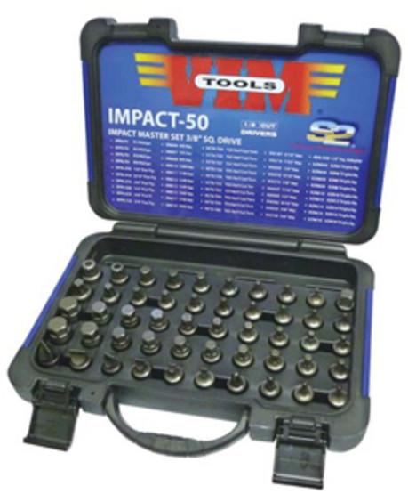 Vim Tools IMPACT-50 50 Piece Half Cut Masterimpact Bit Set-1