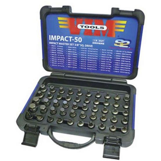 Vim Tools IMPACT-50 50 Piece Half Cut Masterimpact Bit Set-2