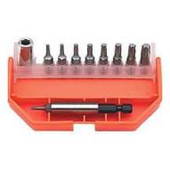 VIM Hand Tools Vis100 11pc Torx Bit Set T8-t40-1