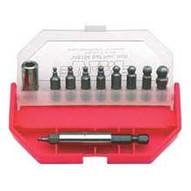 VIM Hand Tools Vis104 11pc Sae Ball Hex Bit Set 3 32-5 16-1