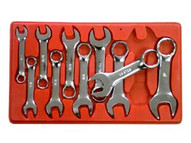 V8 Tools 710 10 Piece Sae Stubby Combo Wrench Set-1