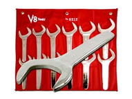V8 Tools 9212 12 Piece Jumbo Service Wrench Set 1-11 16to 2-5 8-1