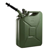 Wavian 3008 Steel Gas Nato Jerry Can wSpout 5.28 Gal 20 Liter- Green-2