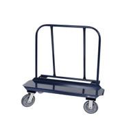 Jescraft WB-150PL-2R2S Drywall Cart - 18'' X 48'' Deck W 8'' Hpe Casters (2 Rigid2 Swivel)-1