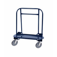 Jescraft WB-80MR-4SML Drywall Cart - Residential Cart With 8 Mold On Rubber Casters & 1 Locking Caster-1