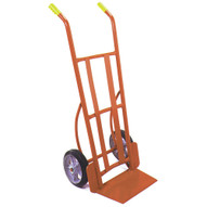Wesco Industrial Products 210055 Heavy Duty Steel Warehouse Hand Truck Moldon Rubber Wheels 900 Pound Load Capacity 21 Width x 50-1 2 Height x 22-1 2 Depth-1