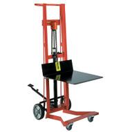 Wesco DPL-54-2222 Four Wheeled Hydraulic Steel Pedalift-1