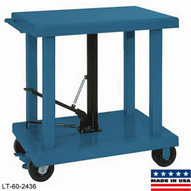 Wesco LT-20-2436 Medium Duty Lift Table-1