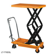Wesco LT-770DSL Double Scissors High Lift Table Capacity 770 Pounds-1