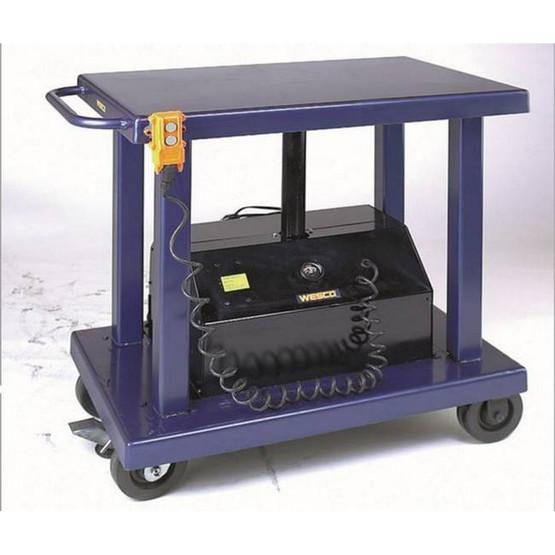 Wesco PLT-60-2436 Heavy Duty Powered Lift Table-2
