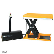 Wesco MELT Powered Scissors Lift Table-1