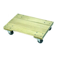 Wesco 272063 Solid Wood Dolly 24 X 16 With 3 Casters-1